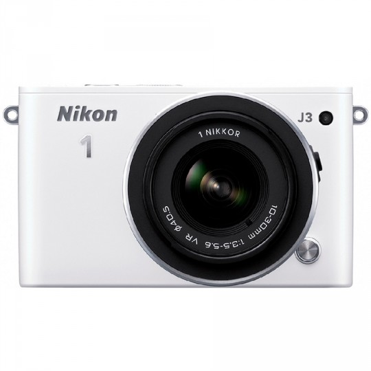 Nikon 1 J3 kit (10-30 mm VR) White