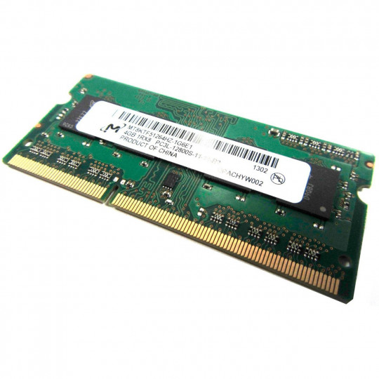 Crucial 4 GB SO-DIMM DDR3L 1600 MHz (MT8KTF51264HZ-1G6E1)
